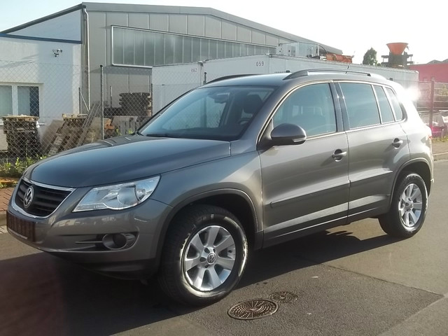 Buying a car VW Tiguan from Germany