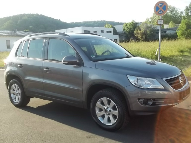 Buy a car from Germany, VW Tiguan Track and Field 2008, Gelnhausen, Germany, May 2012 (1)