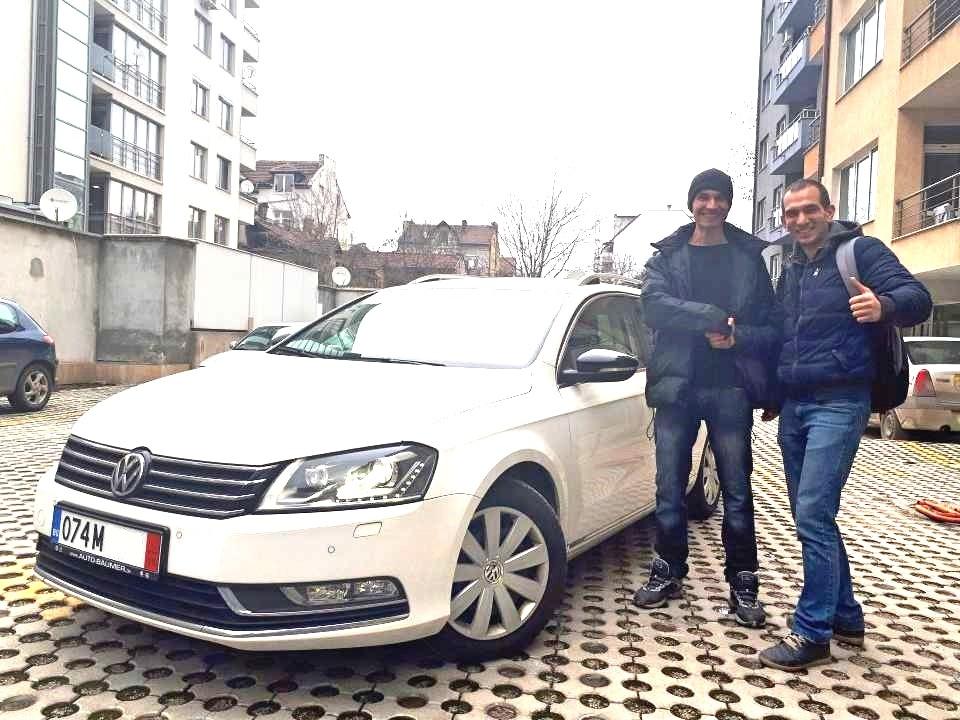 Покупка на кола от Германия - VW Passat Variant 2014 Business Edition weiss 2.0 TDI 140PS DSG Navi