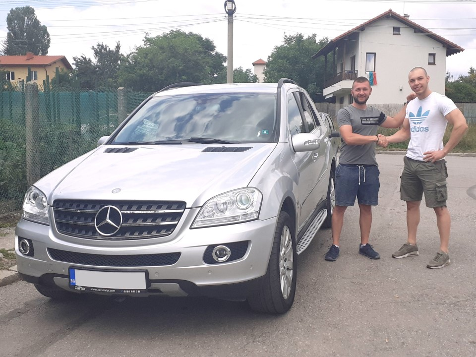 Внос от Италия - Mercedes-Benz ML 320 CDI 2006