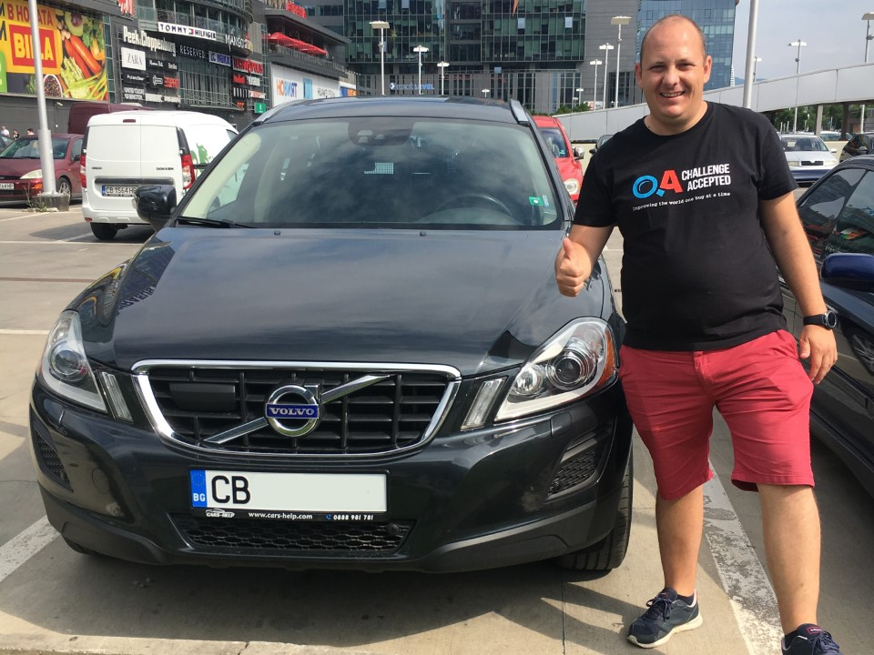 Внос от Германия - Volvo XC60 D5 AWD AT Summum Kamera Navi Pano