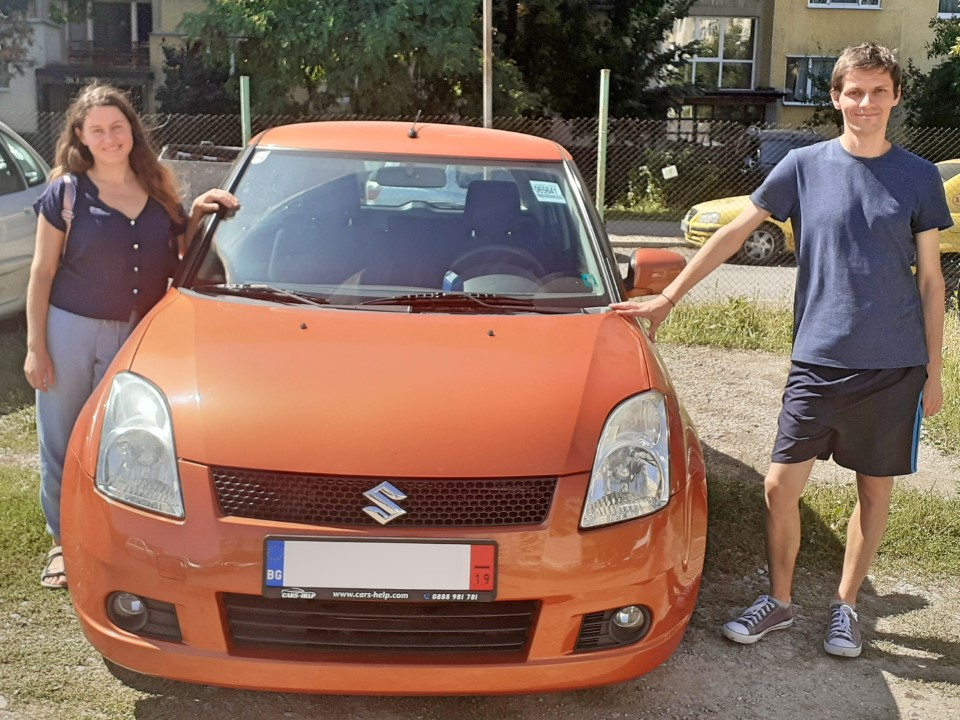 Внос от Австрия - Suzuki Swift 1.3 GL