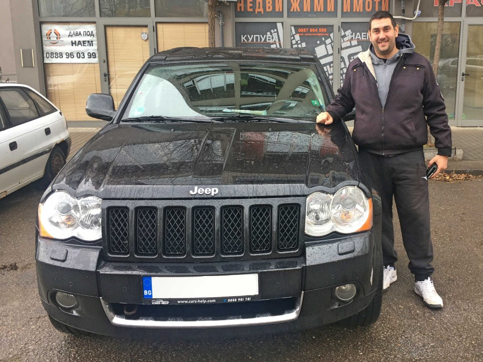 Внос от Германия - Внос от Германия - Jeep Grand Cherokee 3.0 CRD 2010 218hp
