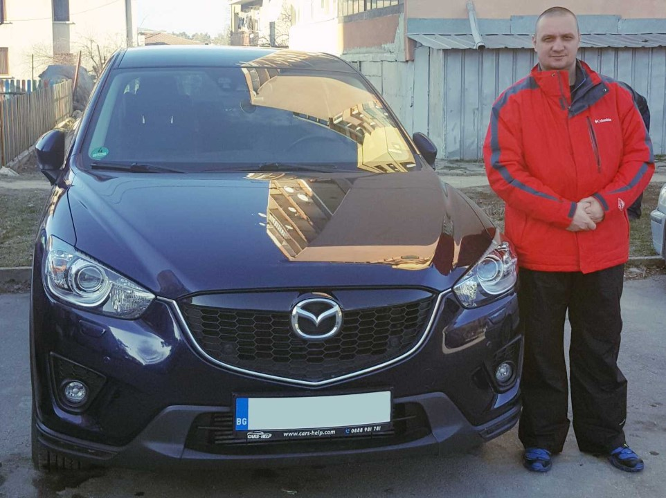 Внос от Германия - Mazda CX-5 2.2 SKYACTIV-D 150hp AWD Sports-Line 2013 100Tkm
