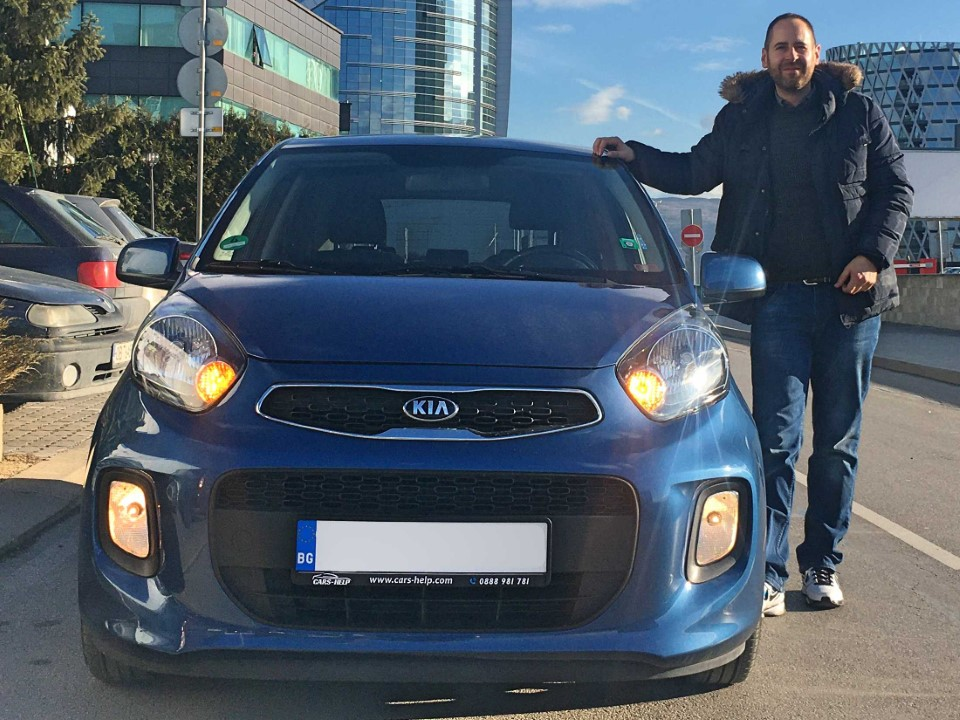 Kia Picanto 2015 1.2 DreamTeam Bluetooth Подгрев Гаранция