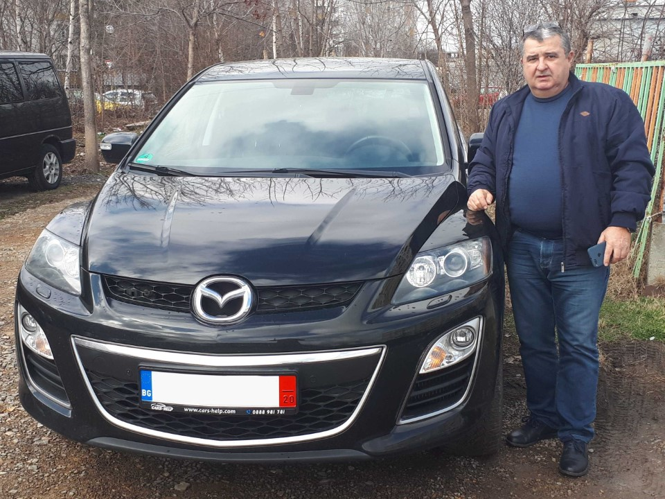 Внос Германия - Mazda CX-7 2.2 MZR-CD Exclusive-Line 2013 86Tkm