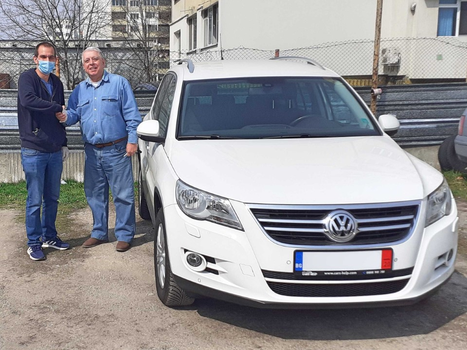 Внос от Германия - VW Tiguan 2.0 TDI Team 2011
