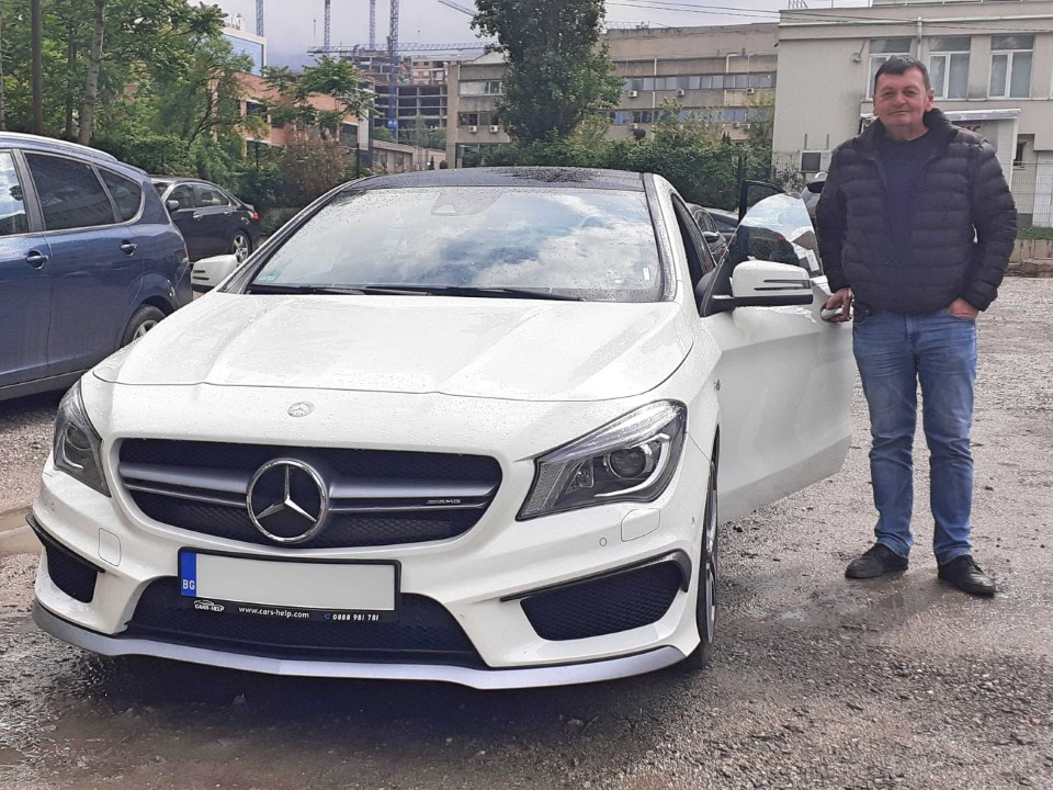 Mercedes 2016 Cla 45 COUPE AMG DCT 4MATIC 381PS 64Tkm