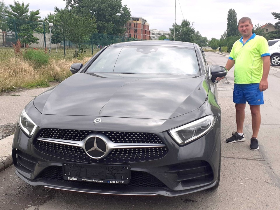 Внос от Германия - Mercedes CLS 450 2019 367хп 4M AMG DISTRO MULTIBEAM COMAND AIRMATIC