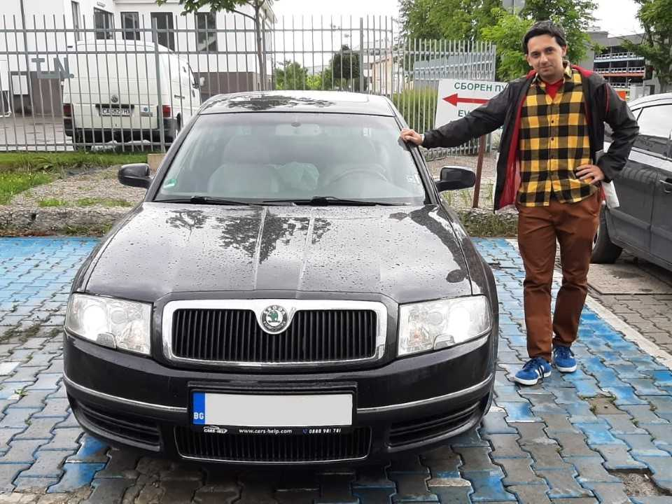 Внос от Германия - Skoda Superb Edition 100 2006