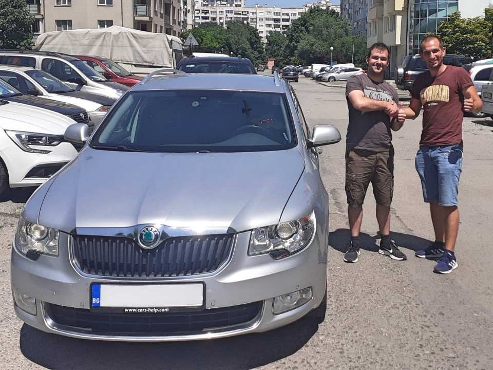 Внос от Германия - Skoda Superb Ambition 2011 2.0 TDI 170hp DSG