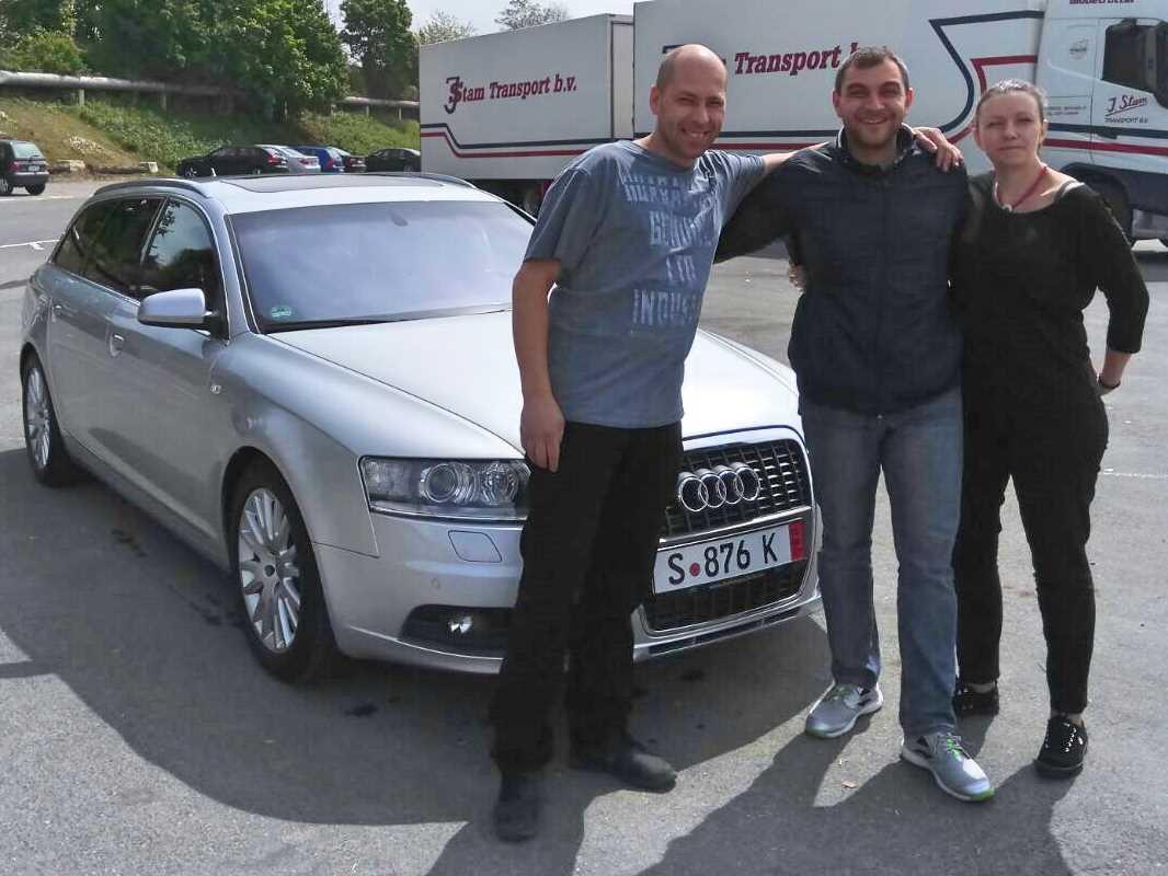 Покупка на  Audi A6 S-line от Германия