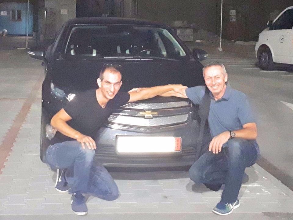 Покупка на Chevrolet Volt Hybrid 151 к.с. от Германия