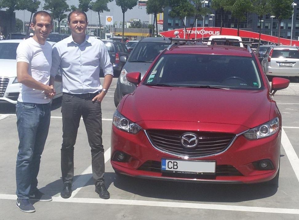 Покупка на Mazda 6 SkyActive 2.2D от Германия