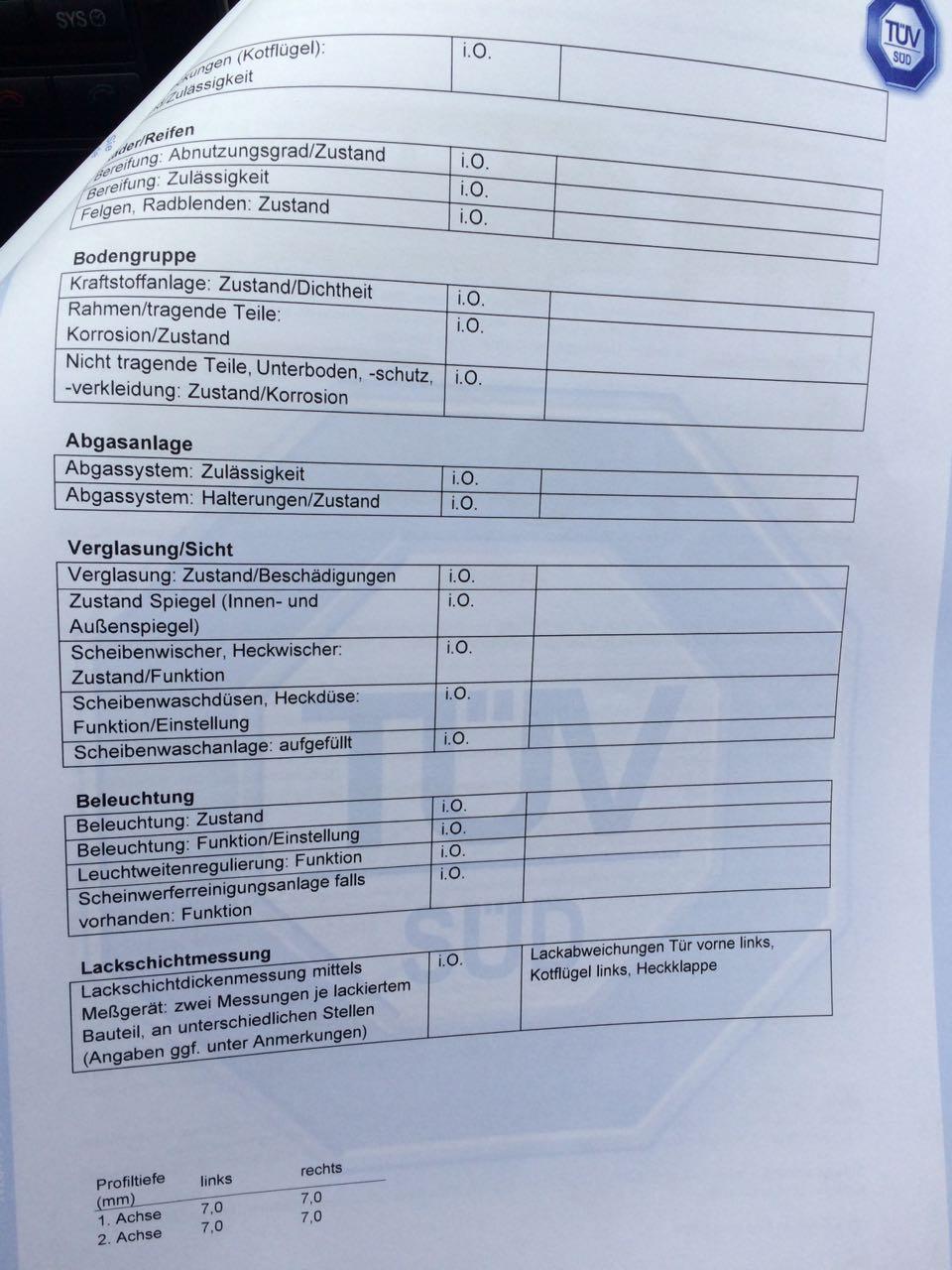 Preminat technicheski pregled na myasto v Germaniya. Mercedes C 200 CDI 2.2D Avantgarde , 136 к.с. 10.08.2017 TÜV (4)