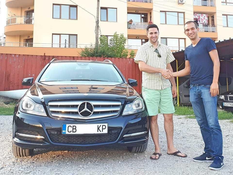 Покупка на Mercedes C 200 T CDI от Германия