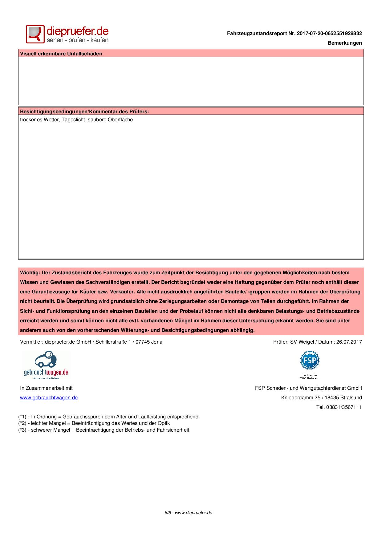 Prüfprotokoll Chevrolet Volt in Bühl (6)