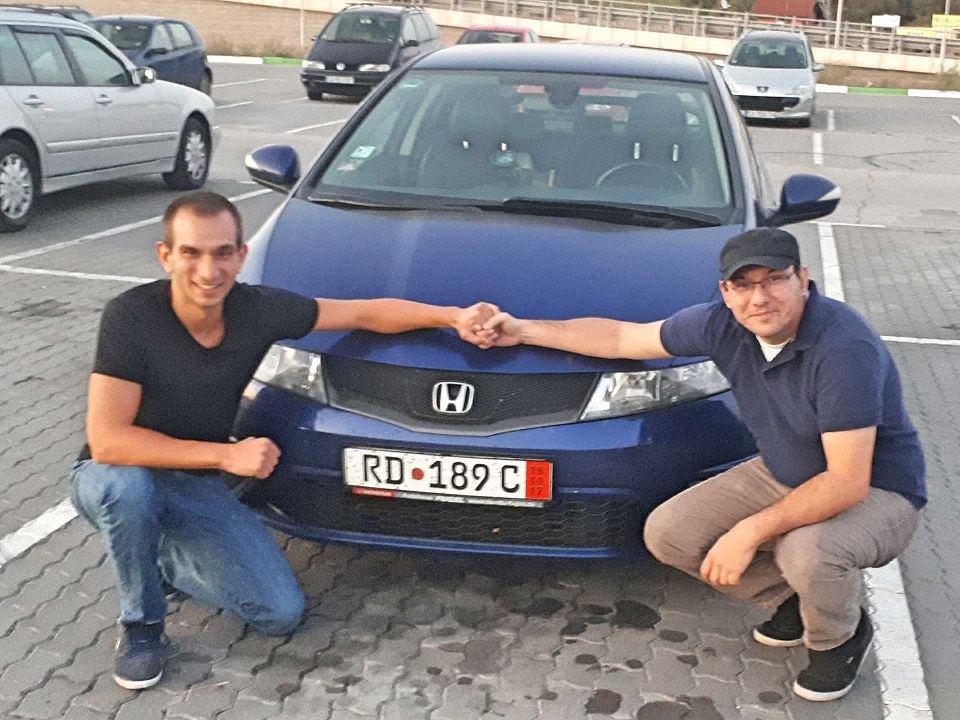 Покупка на Honda Civic 1.8 iVTEC 140 к.с. от Германия