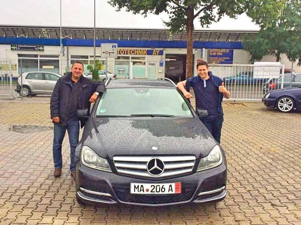 Покупка на кола от Германия - Mercedes C 200 T 2.2 CDI Avantgarde 2011 136 к.с. 12200 Euro - Front Cover