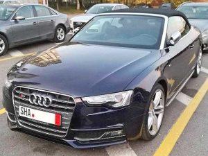 Преди регистрация в КАТ - Audi S5 2013 (4)