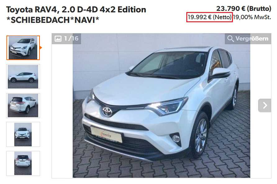 Съдействие за покупка на кола, джип, автомобил и други превозни средства от Германия и чужбина нето експорт (без ДДС)