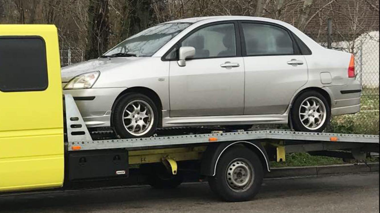 Автовоз - Германия - България - Suzuki Liana