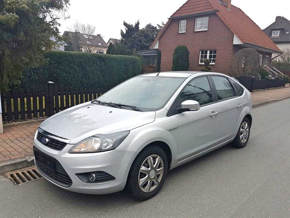 Import from Germany - Ford Focus 1.6 Ti-VCT Silver Magic, 2009