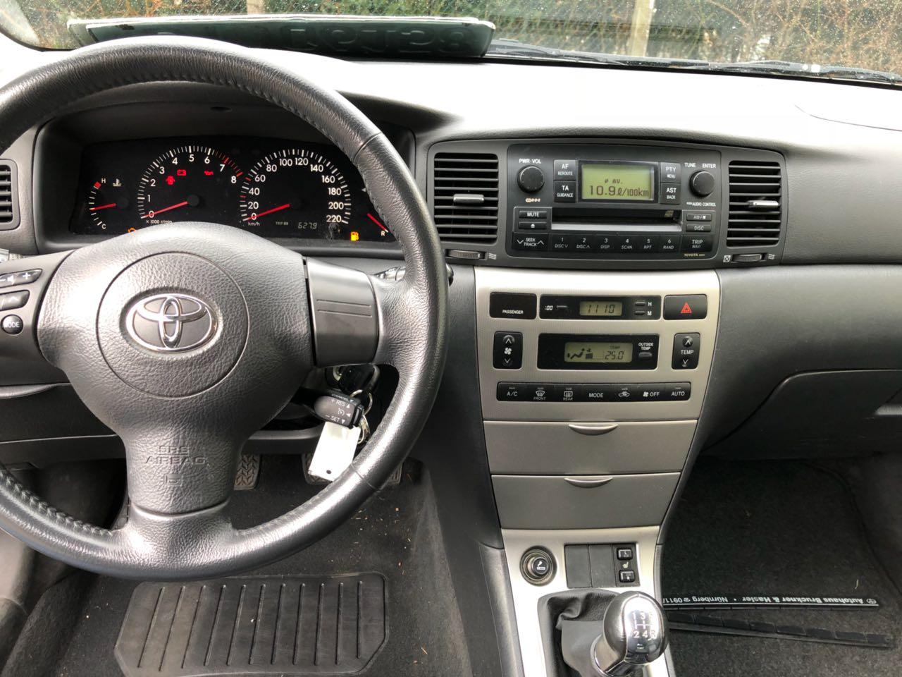 Покупка, внос на кола от Германия - Toyota Corolla 2006 1.6 бензин 110 hp (10)