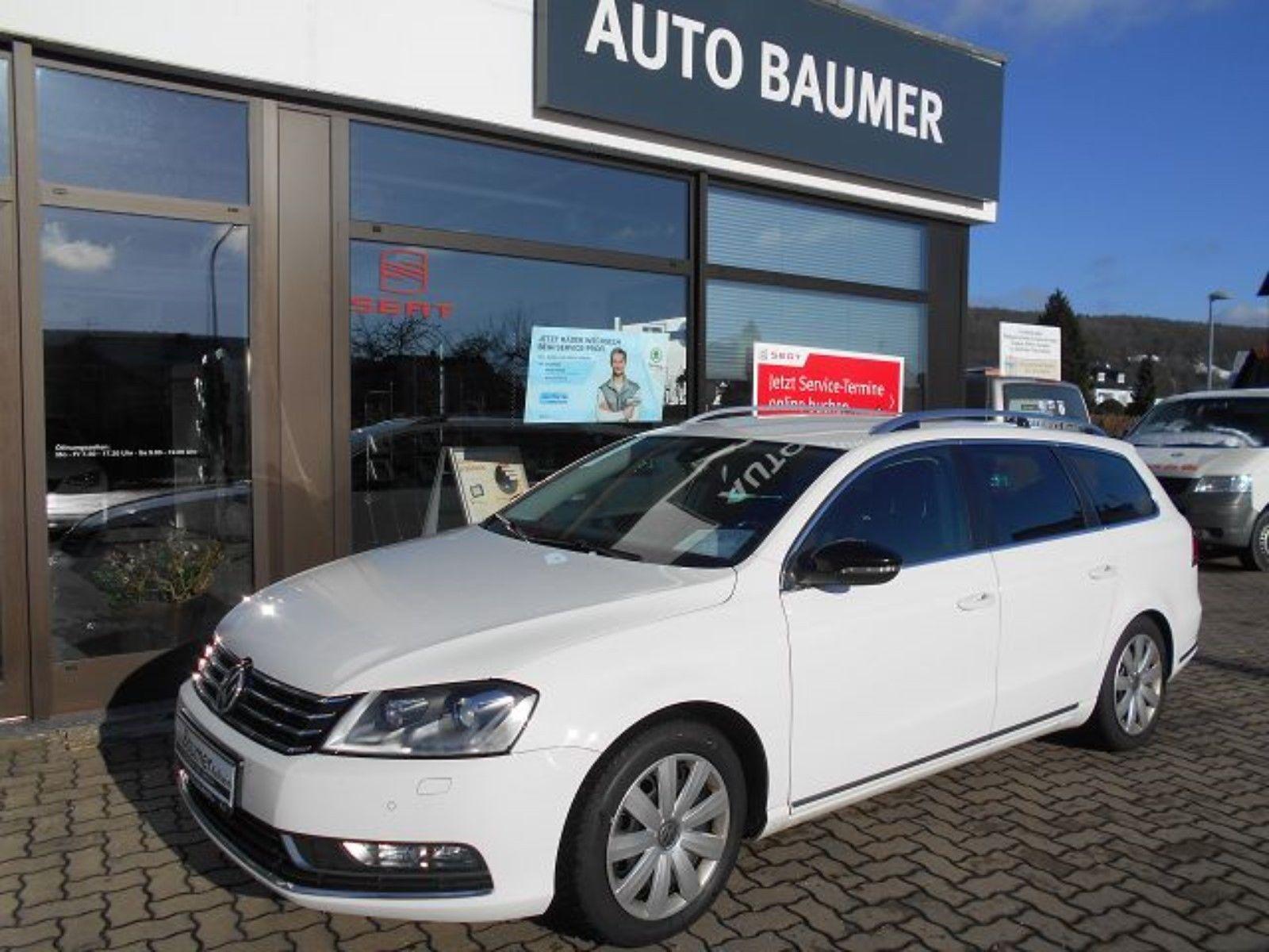 Покупка, внос на кола от Германия - VW Passat Variant 2014 Business Edition weiss 2.0 TDI 140PS DSG Navi (2)