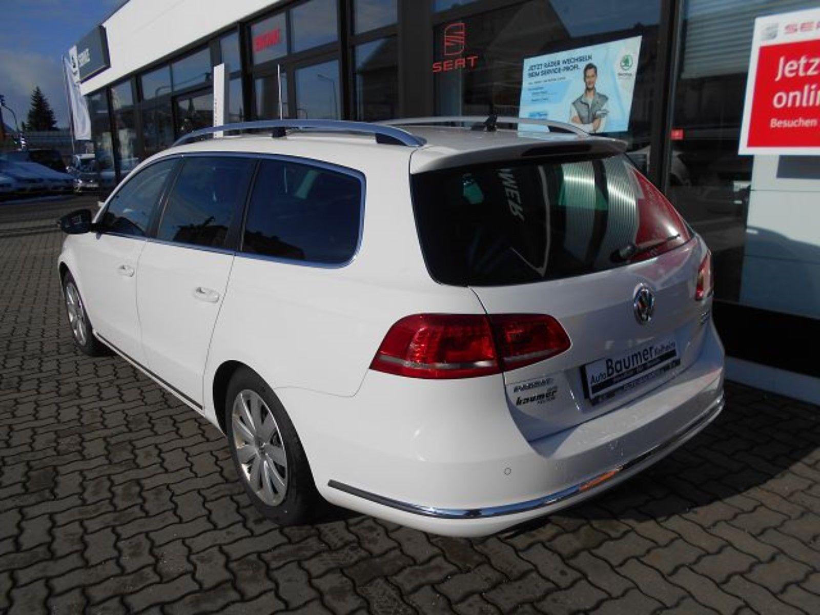 Покупка, внос на кола от Германия - VW Passat Variant 2014 Business Edition weiss 2.0 TDI 140PS DSG Navi (4)