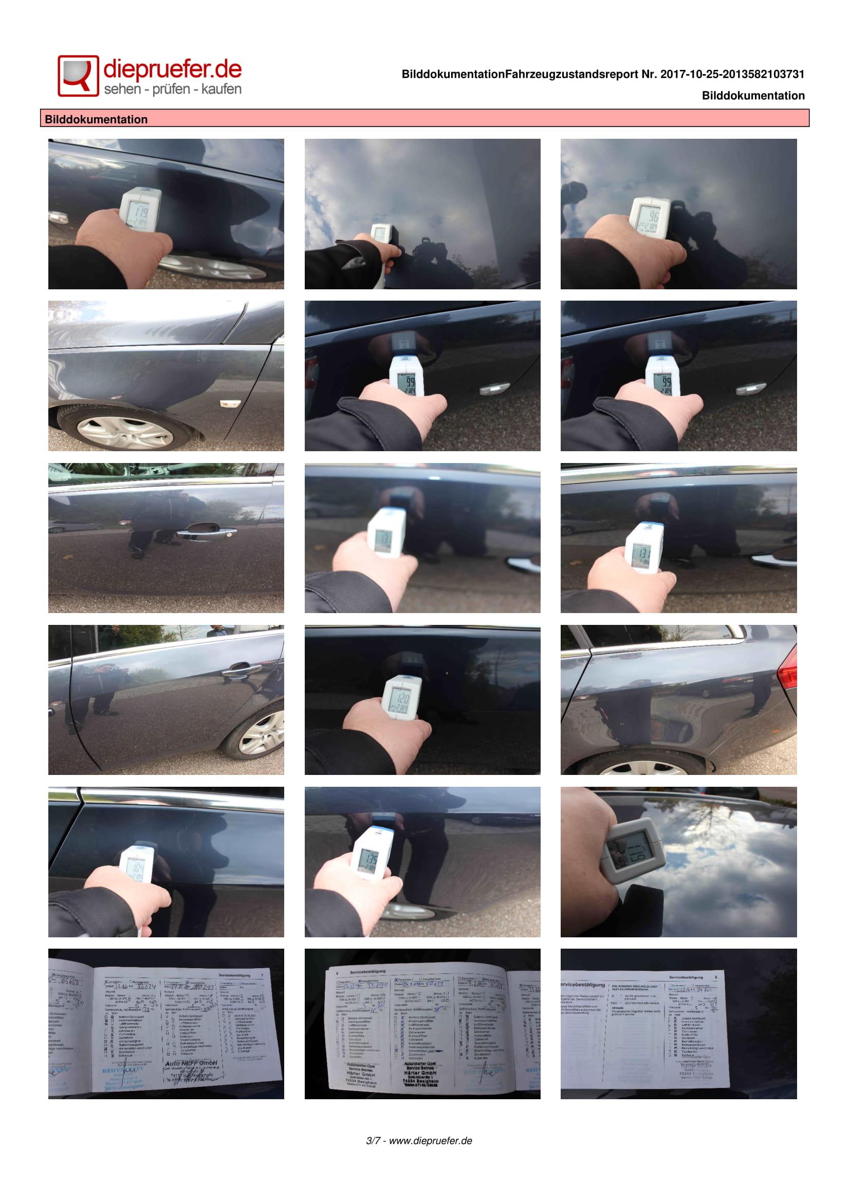 Протокол проверка на употребяван автомобил - Opel Insignia Kombi-3