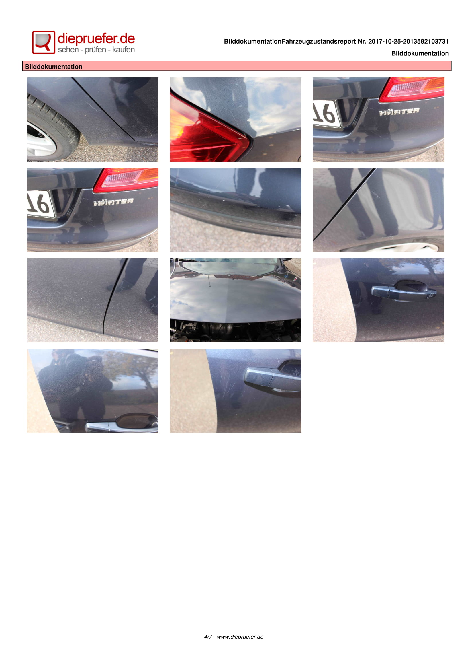Протокол проверка на употребяван автомобил - Opel Insignia Kombi-4