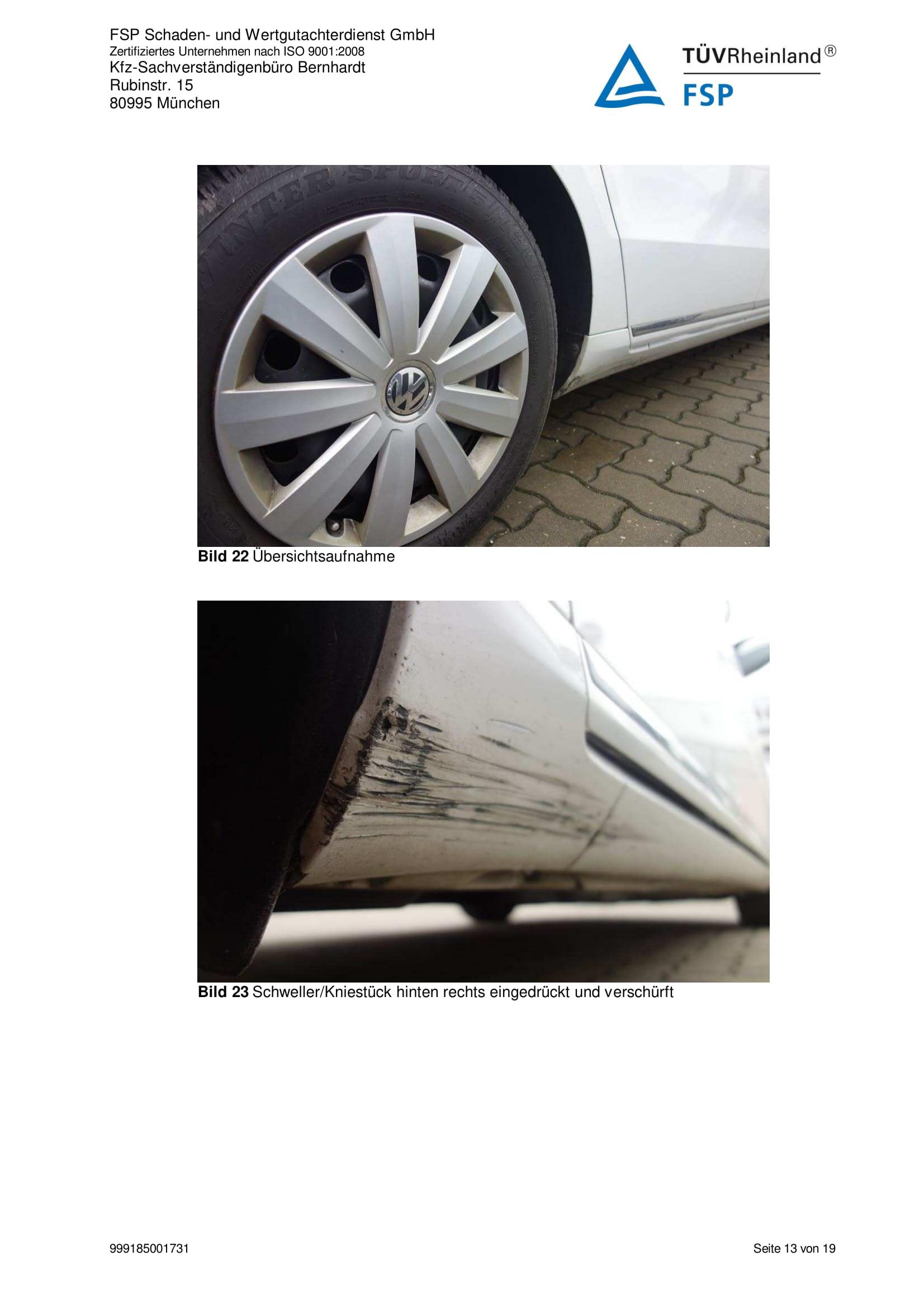 Снимки Проверка на употребяван автомобил в Германия - VW Passat Variant 2014 2.0 TDI 140 к.с. (13)