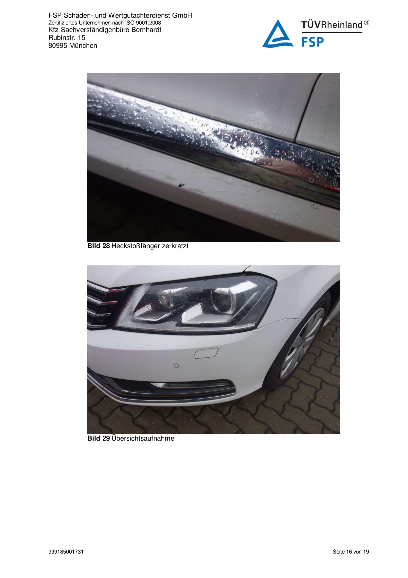 Снимки Проверка на употребяван автомобил в Германия - VW Passat Variant 2014 2.0 TDI 140 к.с. (16)