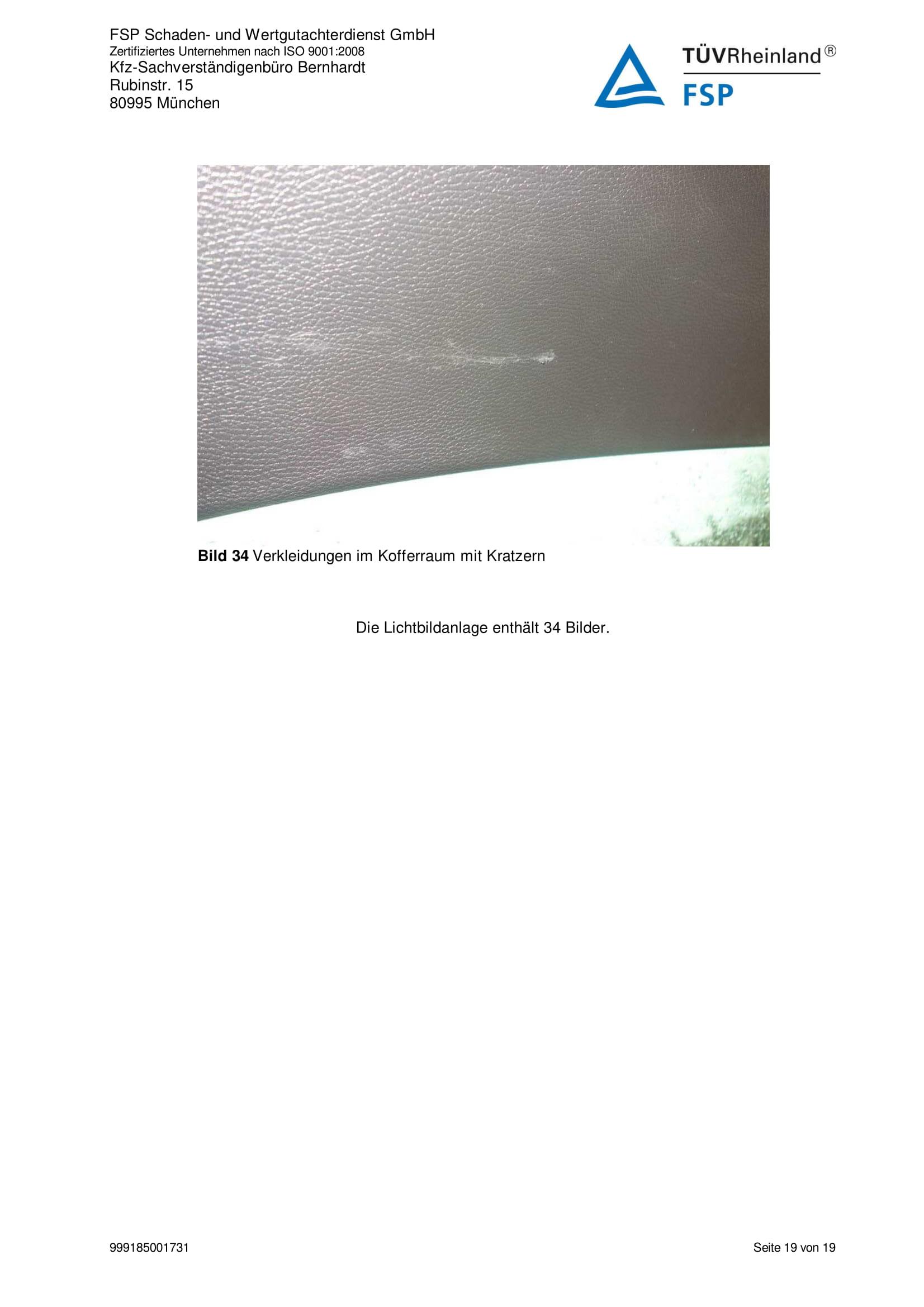 Снимки Проверка на употребяван автомобил в Германия - VW Passat Variant 2014 2.0 TDI 140 к.с. (19)