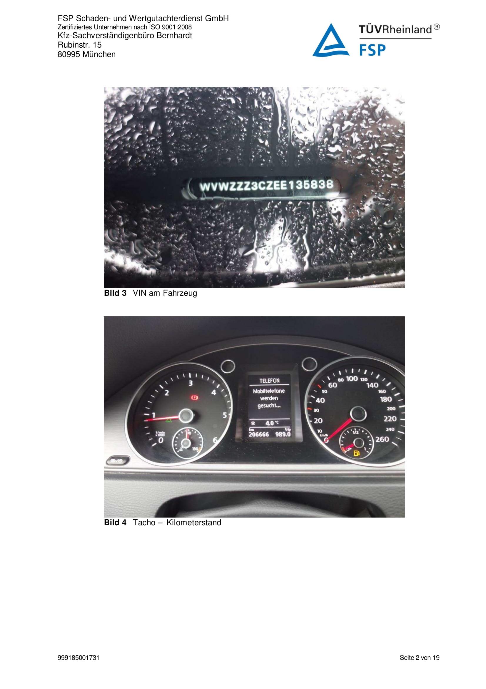 Снимки Проверка на употребяван автомобил в Германия - VW Passat Variant 2014 2.0 TDI 140 к.с. (2)