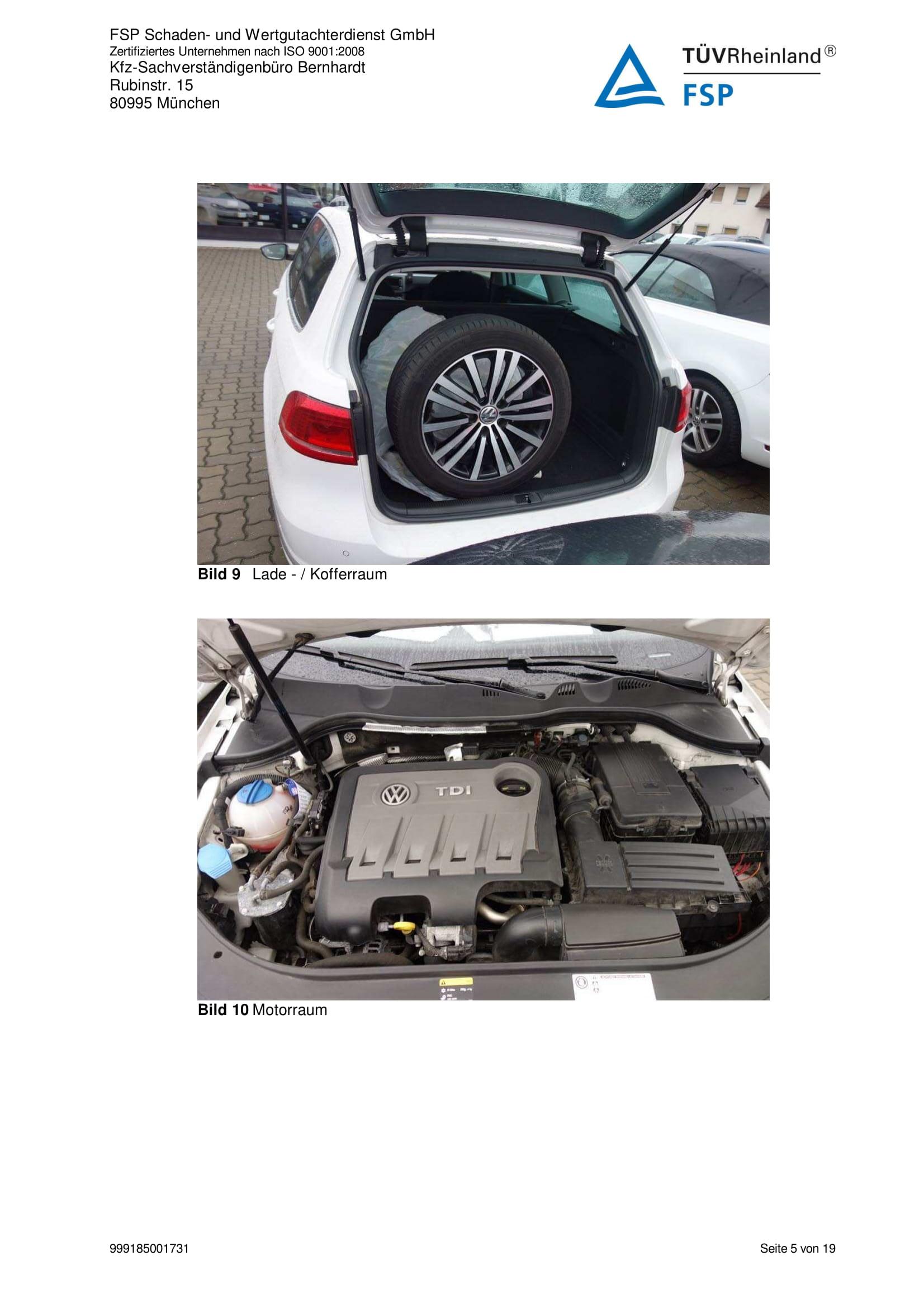 Снимки Проверка на употребяван автомобил в Германия - VW Passat Variant 2014 2.0 TDI 140 к.с. (5)