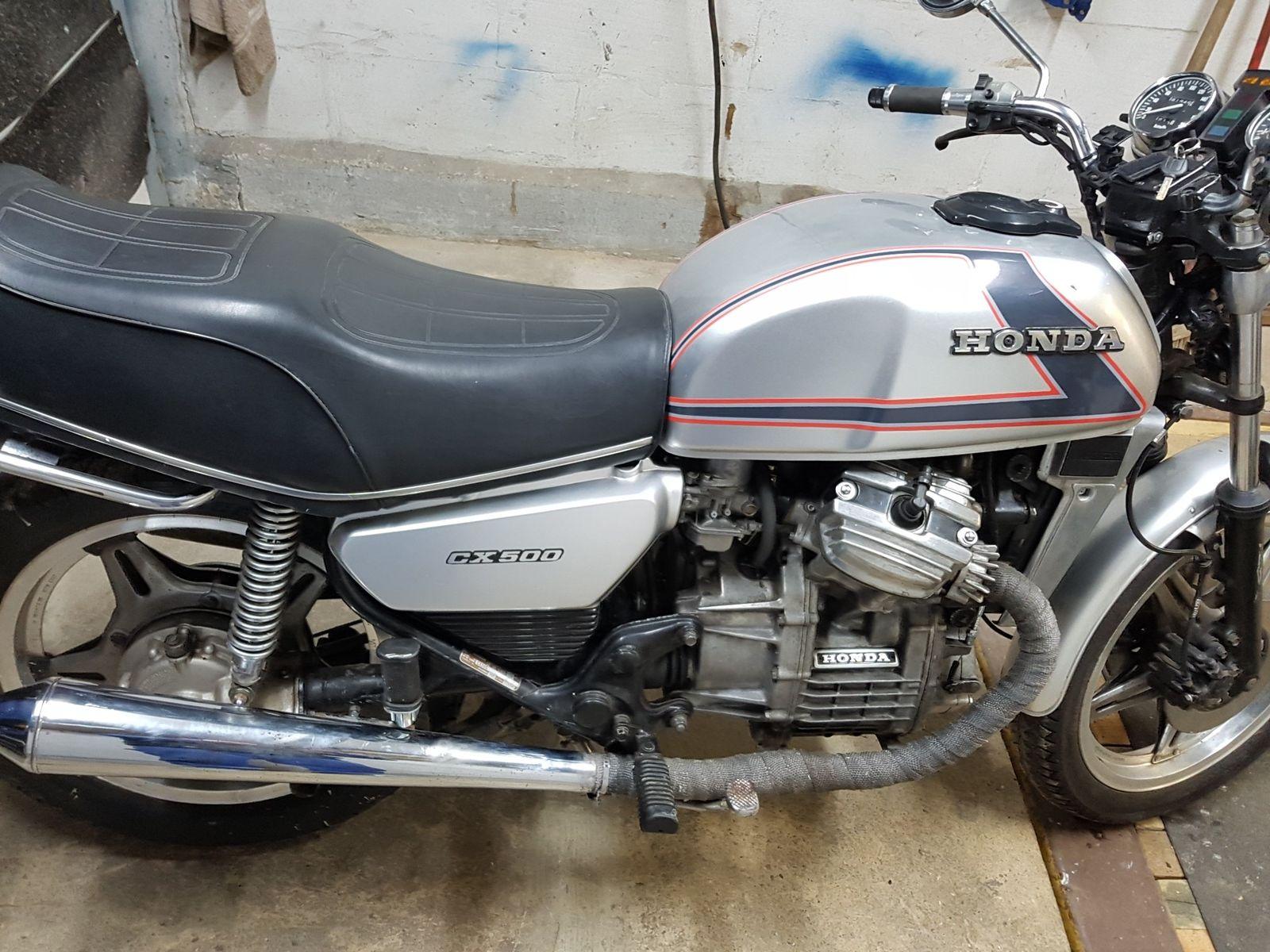 Покупка, внос на мотор от Германия Honda CX 500 кубика, 50 к.с. (2)