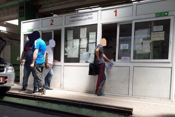 Пост за обработка на документи и идентификация на ППС в КАТ Варна