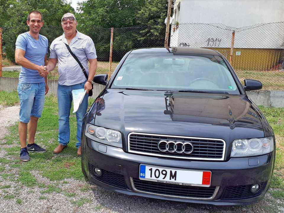 Audi A4 1.8 Turbo 2004 163 к.с.
