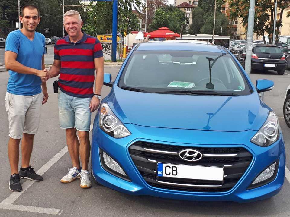 Hyundai i30 1,6 CRDI 2016 136 hp