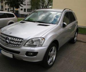 Покупка, внос на кола от Германия - Mercedes-Benz ML 320 CDI 4Matic 2006 224hp (2)