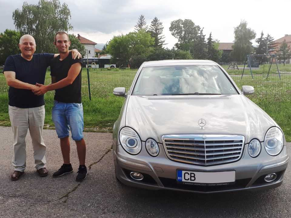 Mercedes E 320 CDI 2008 224hp