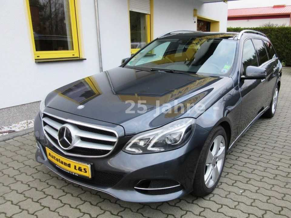 Mercedes E350 BlueTEC 4-Matic 2013 252hp