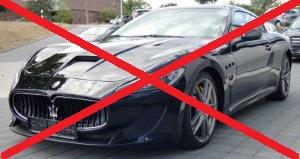 Не купувайте екзотични марки и модели автомобили