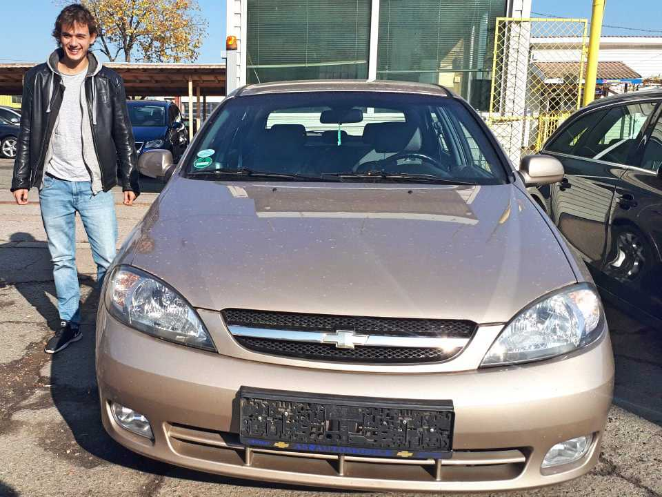Chevrolet Lacetti 2008 1,8 CDX 121hp