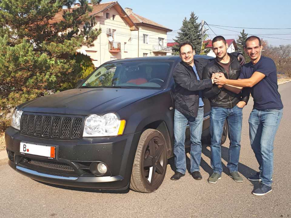 Jeep Grand Cherokee SRT8 6.1 Benzin 426hp