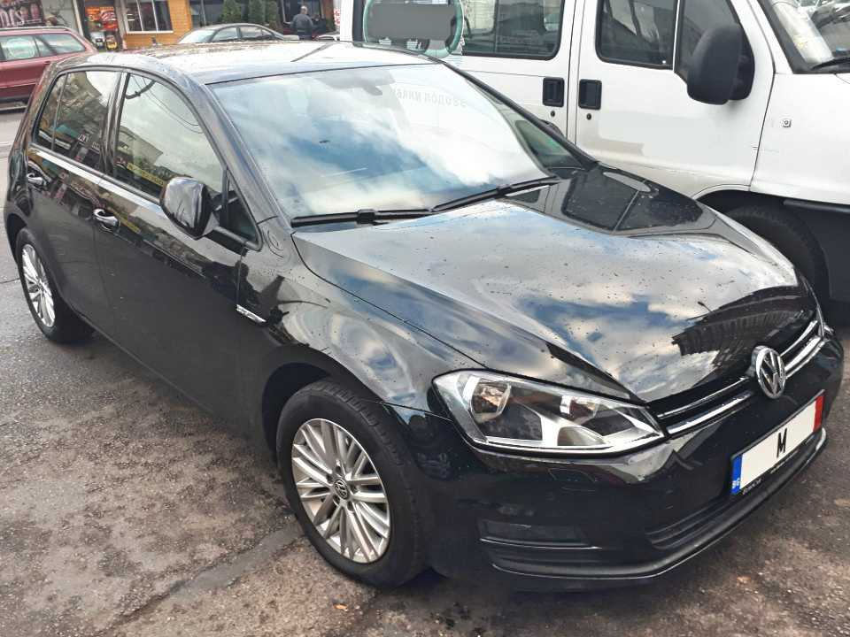 VW Golf VII, 2015, 1.6 TDI CUP DSG