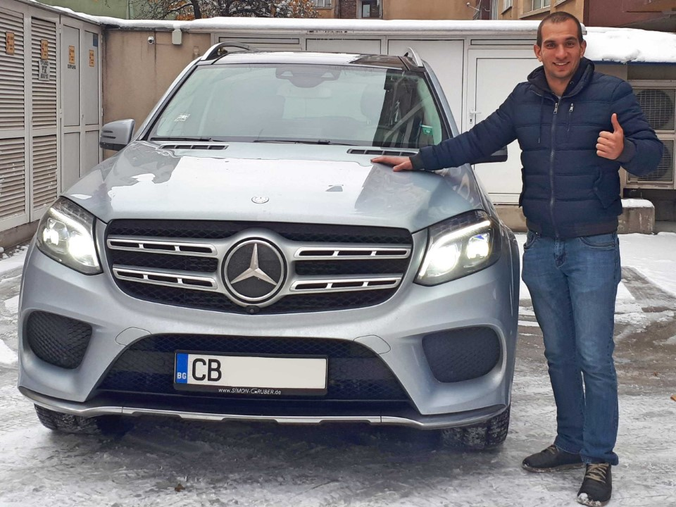 Mercedes GLS 350d 2016 4Matic 258hp