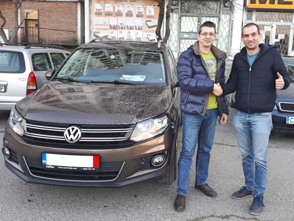 Внос от Германия - VW Tiguan 2014 2.0 TDI Cup Sport